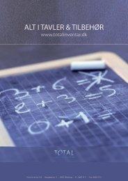 ALT I TAVLER & TILBEHØR - Total Inventar