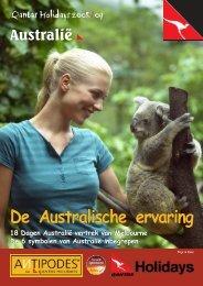 De Australische ervaring De Australische ervaring - Antipodes