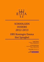 Handleiding website De Curtevenne - Openbare Basisschool ...