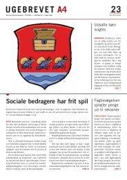PDF - Ugebrevet A4