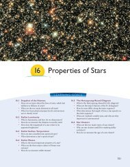 Chapter 16--Properties of Stars