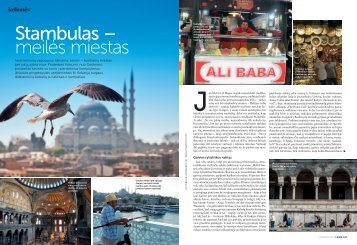 Stambulas – meilės miestas - Turkki