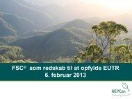 FSC som redskab til at opfylde kravene i EU-tømmerloven PDF, Size