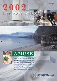 Zuidema-avk magazine Amuse 2002