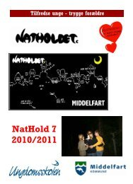 NatHoldet Folder Start 1011 - Middelfart Ungdomsskole