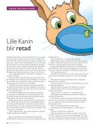 56 Lille kanin blir retad - Välkommen till Reumatikertidningens arkiv