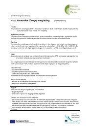 Proces: Anaerobe (Droge) vergisting - Energie Conversie Parken