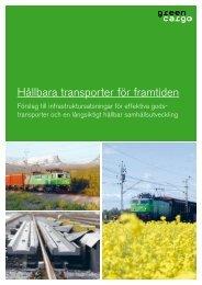 Hållbara transporter för framtiden - Green Cargo