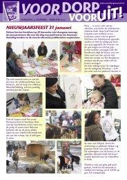 Nummer 1, Februari 2010 - Voordorp Vooruit