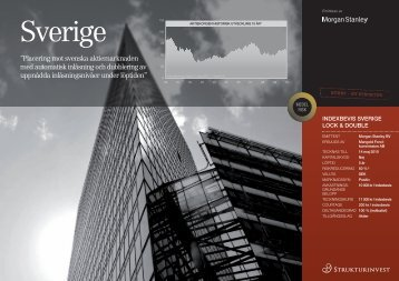 Indexbevis-Sverige-L.. - Strukturinvest