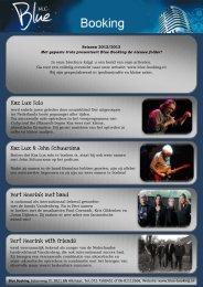Kaz Lux Solo Kaz Lux & John Schuursma Bert Heerink met band ...