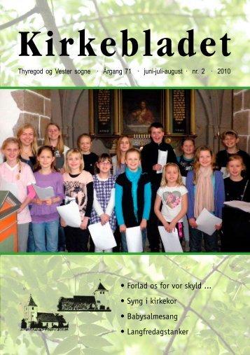 Kirkebladet - Thyregod og Vester sogne