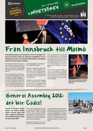 Från Innsbruck till Malmö - Council of European Municipalities and ...
