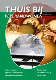 Nieuwsbrief Thuis bij PeelrandWonen december 2012