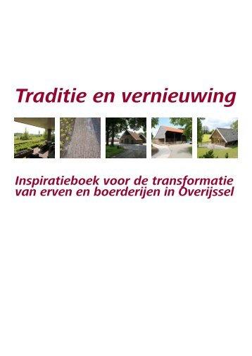 Traditie en vernieuwing, inspiratieboek voor de ... - Het Oversticht