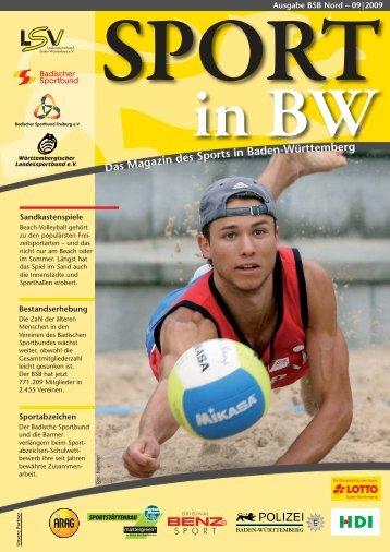 Download Sport in bw Nr. 09/09 - Badischer Sportbund Nord ev