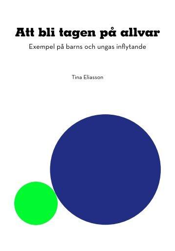 Att bli tagen på allvar - Tryggare Mänskligare Göteborg