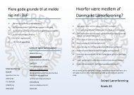 Folder for nye medlemmer - srlf.dk