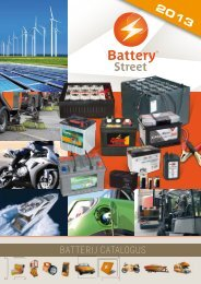 batterijcatalogus - Battery Street