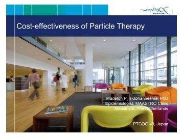 Cost-effectiveness of Particle Therapy - ptcog