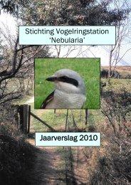 Stichting Vogelringstation - De pagina is niet gevonden