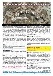 Infobladet 04/2013 - Rönnen