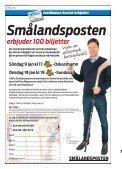 LÖRDAGJonas Grahn och hans fyrverkerier ... - Smålandsposten - Page 3