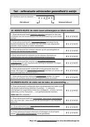 Test – zelfevaluatie adviesraden gezondheid ... - LOGO Antwerpen