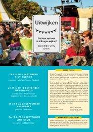 programma van Uitwijken - Brugge Plus