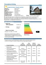 Energimærkning - Fyns almennyttige Boligselskab