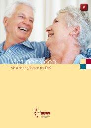 Met pensioen: als u bent geboren na 1949 - bpfBOUW