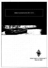 Waterwegen en Zeekanaal NV - Bestuurszaken