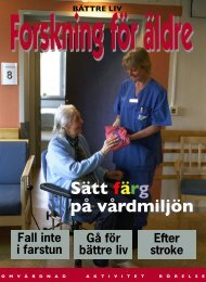 Sätt färg på vårdmiljön - Svensk sjuksköterskeförening