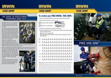 claim form - Irwin