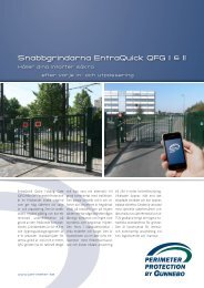 Snabbgrindarna EntraQuick QFG I & II - Perimeter Protection Group