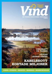 Nummer 5 – 2012 - Svensk Vindenergi