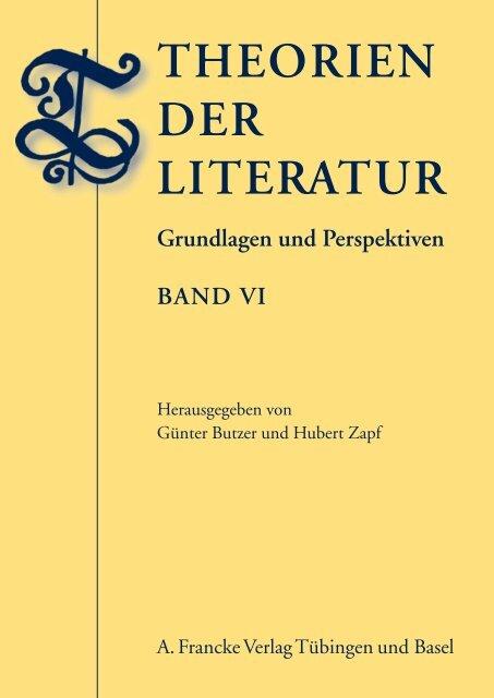 Theorien der Literatur VI - Narr