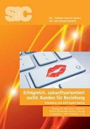 Erfolgreich, zukunftsorientiert sucht: Kunden für Beziehung - B2Match