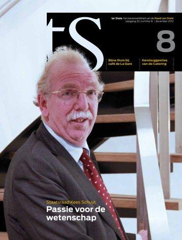 Terzake, personeelsblad Raad van State, december 2012 - Mirjam ...
