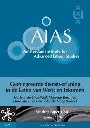 Geïntegreerde dienstverlening in de keten van Werk en ... - AIAS