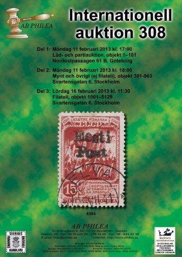 Auktion 308 - Philea