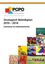 Strategisch Beleidsplan 2010 – 2014 - PCPO Barendrecht en ...