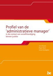 administratieve manager - Federale Overheidsdienst Justitie