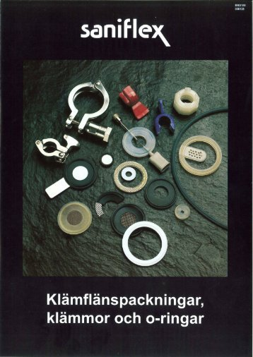 Packningar till klämflänskopplingar (TC) - Saniflex