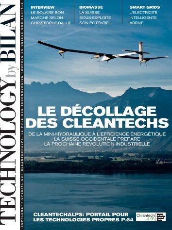 04.2011 Le décollage des cleantechs ... - CleantechAlps