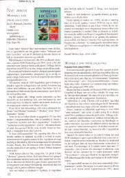 Nye bøker: Bernard & Hyrsl: Minerals and their localities pdf - NAGS