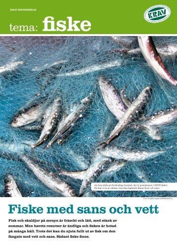 Fiske med sans och vett - Krav