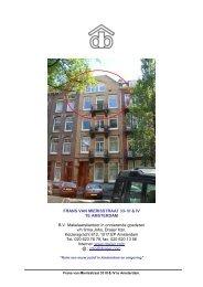 FRANS VAN MIERISSTRAAT 33- III & IV TE AMSTERDAM B.V. ...