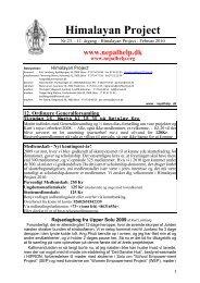 Nr. 23 - 11. årgang - Februar 2010 - Himalayan Project