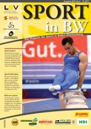 Sport in bw Nr. 10/11 - Badischer Sportbund Nord ev